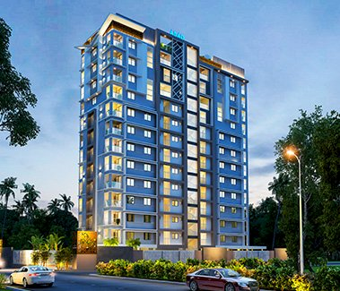 The Lantern Entrance 3BHK Residential Apartment The Lantern